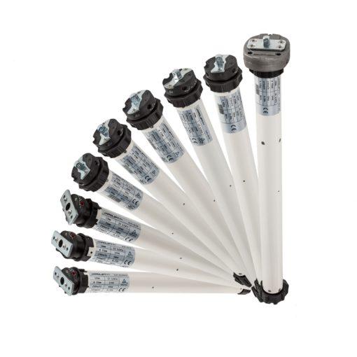 Rollladenmotor für Schalterbetrieb - verschiedene Zugstärken