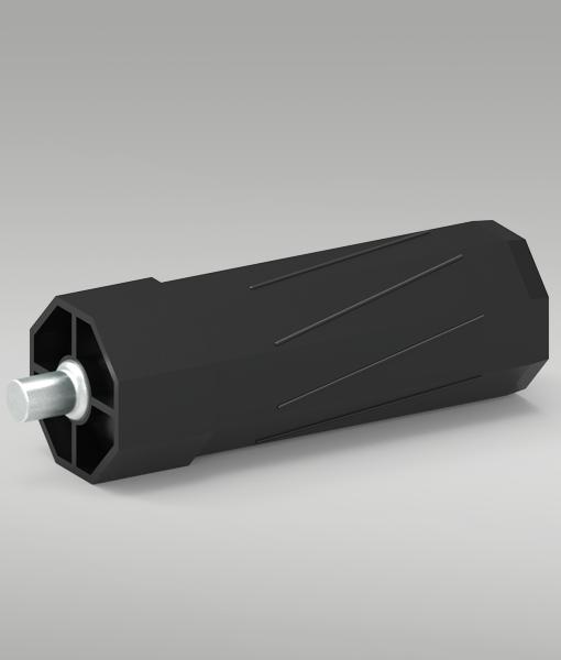 Walzenkapsel mit Achsstift SW 40mm