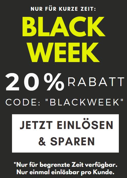 Blackweek Sparen Teaser
