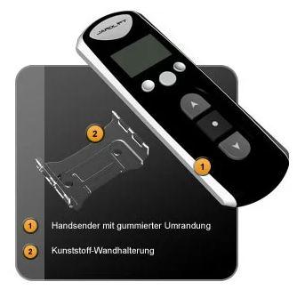 Jarolift Funkhandsender 4-Kanal mit Timer - Lieferumfang