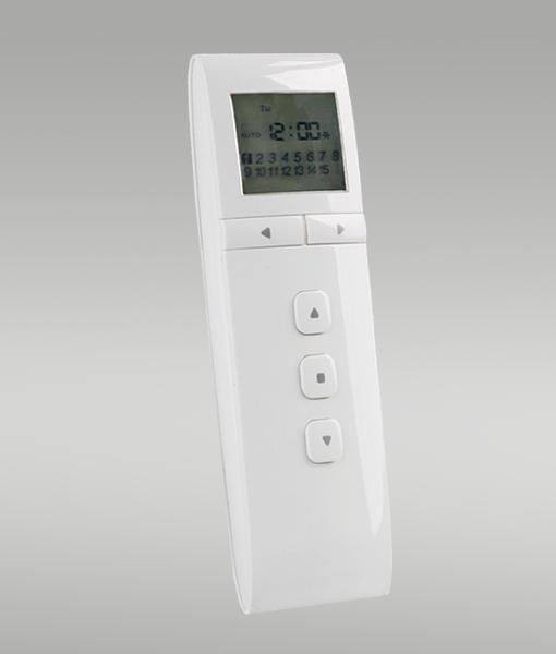 PREMIUM 15-Kanal Handsender mit Timer für die Funkmotor-Steuerung