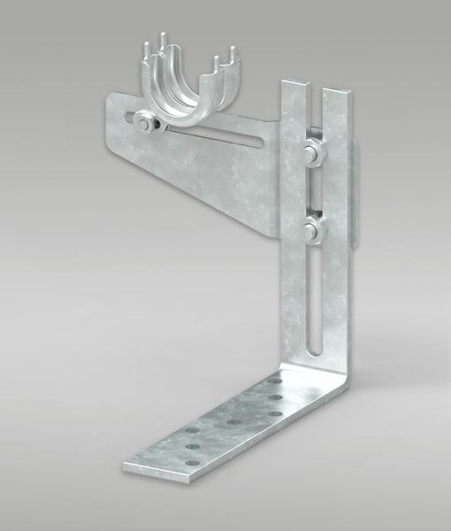 Rolladen Doppelhalterung mit Verstellwinkel für Fensterkombinationen